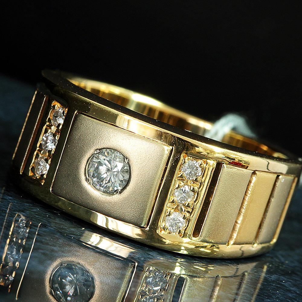 【鑑別書付】ダイヤモンド  K18 イエローゴールド デザイン リング 指輪 4月誕生石// 【コンビニ受取対応商品】