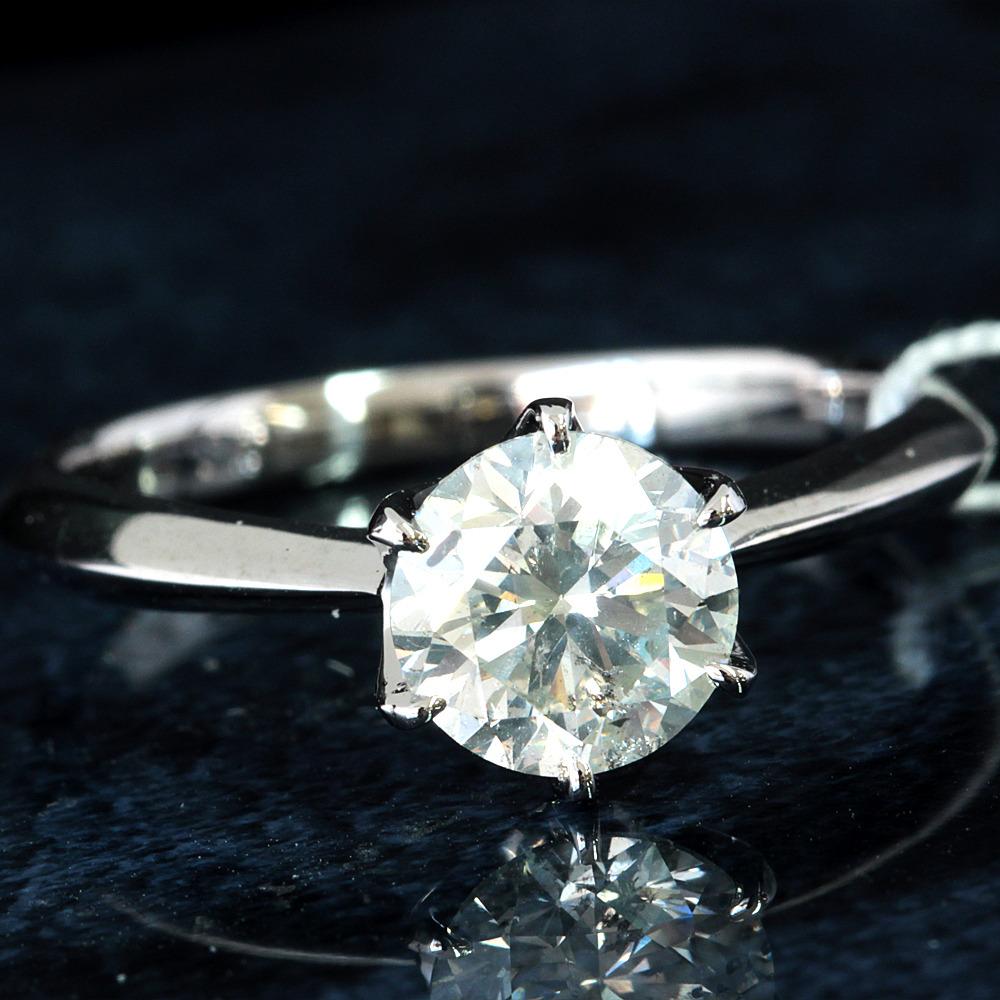 【在庫処分値下げ】 【鑑定書付】1ct K SI-1 Good ダイヤモンド Pt900プラチナ リング 指輪 4月誕生石// 【コンビニ受取対応商品】