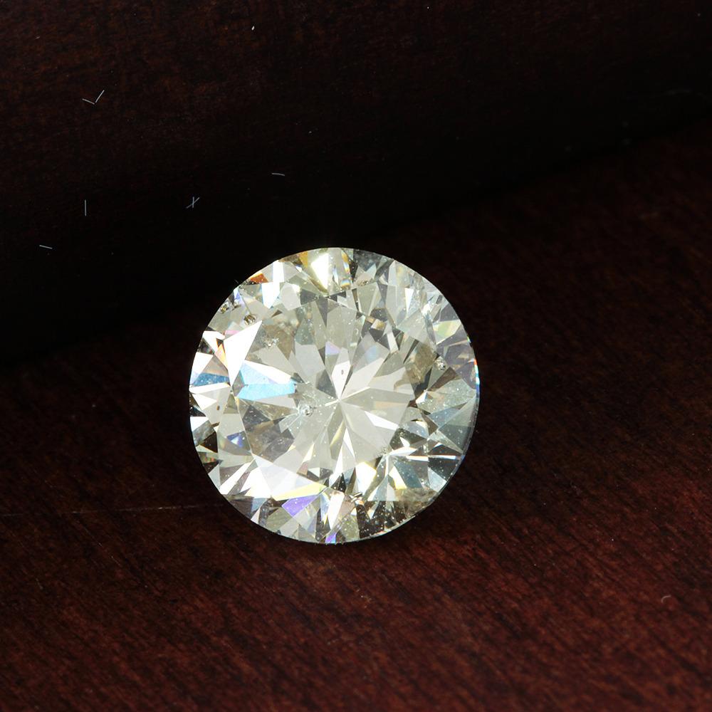 【在庫処分値下げ】 【鑑定書付】ダイヤモンド ルース 1.517ct M SI-2 Good