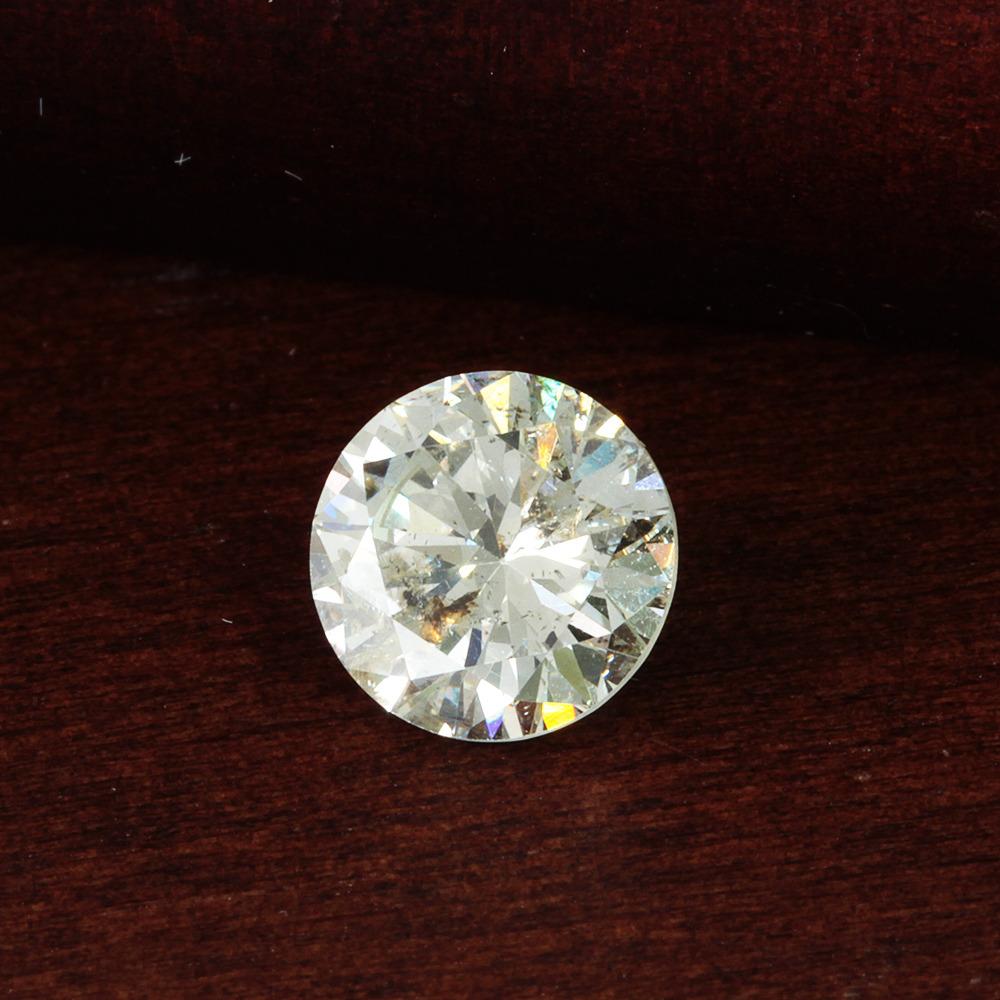 【鑑定書付】ダイヤモンド ルース 1.502ct K SI-2 Good