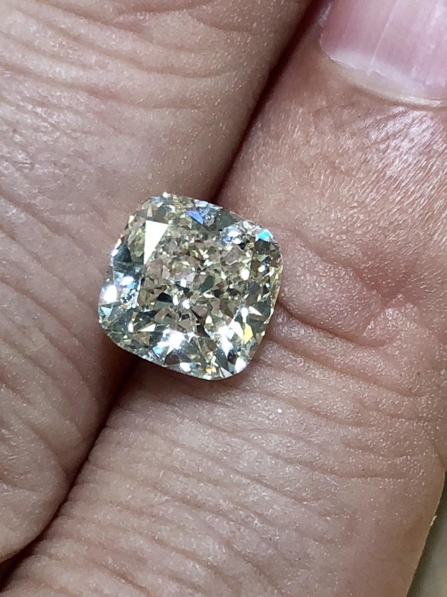ダイヤモンド ルース 超稀少 3ct 3.0ct IF Light Yellow 中宝鑑定書付 4月誕生石 送料無料