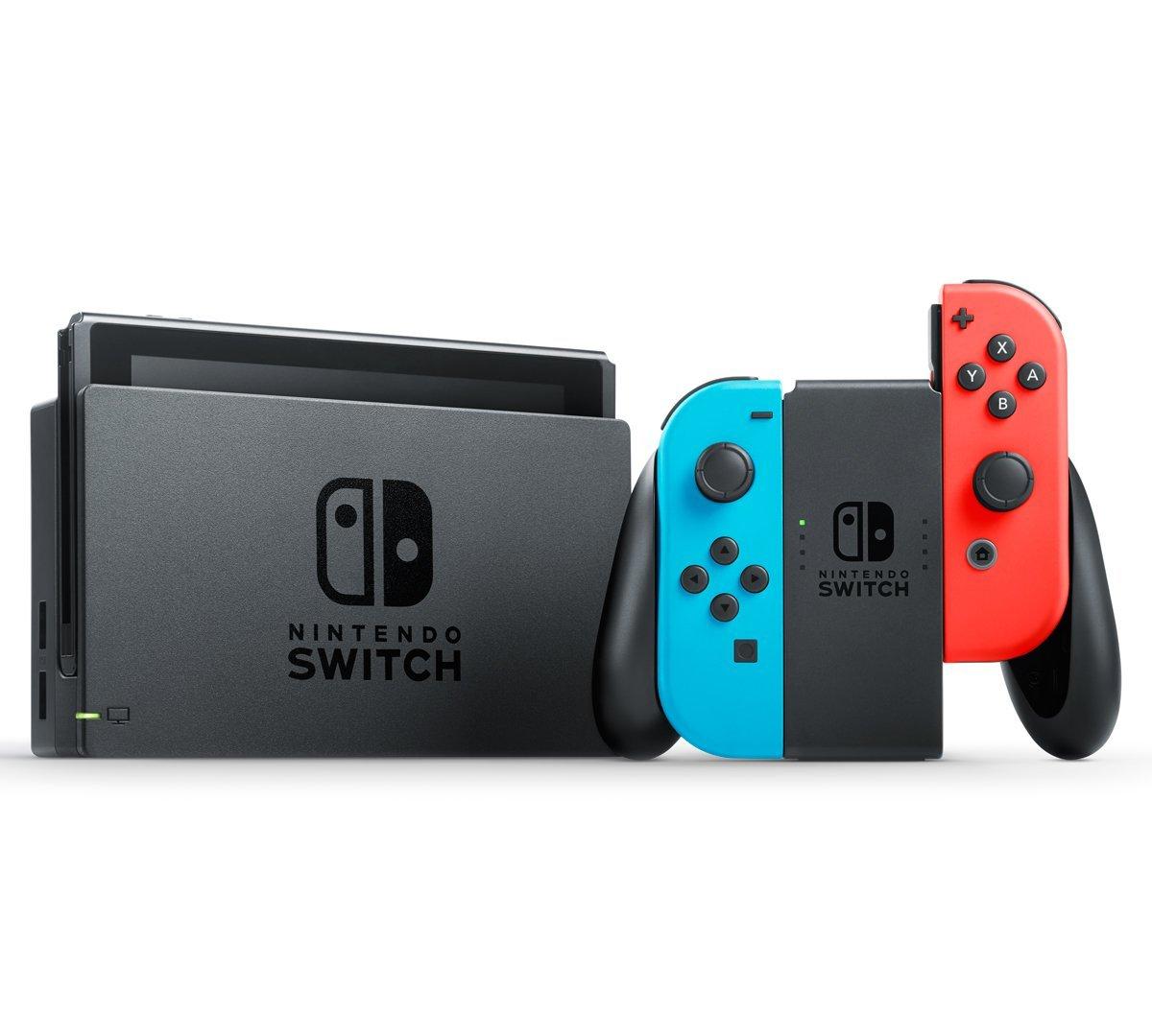Nintendo Switch Joy-Con (L) ネオンブルー/ (R) ネオンレッド※保証印がありません【Nintendo Switch本体】【鈴鹿 専売品】【062-190312-01fs】