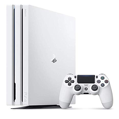 PlayStation 4 Pro 本体 グレイシャーホワイト 1TB (CUH-7200BB02) 【中古】【PS3・PS4本体】【鈴鹿 専売品】【059-181029-04ys】
