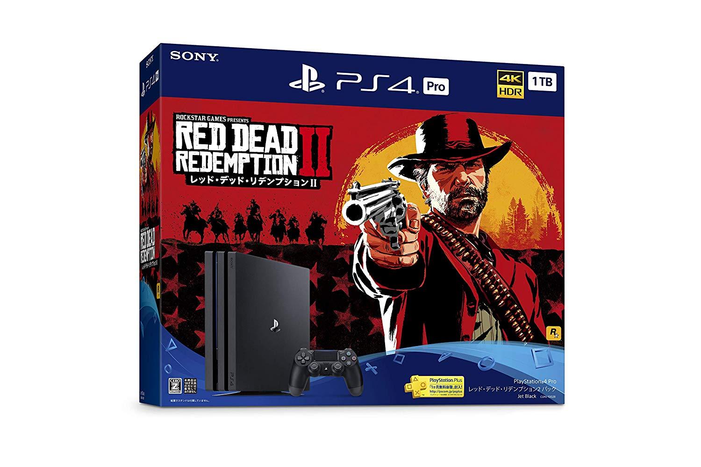 PlayStation 4 Pro レッド・デッド・リデンプション2 パック / PS4 / CUHJ10028 / 【CERO レーティング 「Z」(18歳以上のみ対象)】 【中古】【PS3・PS4本体】【鈴鹿 専売品】【059-181029-05YS】