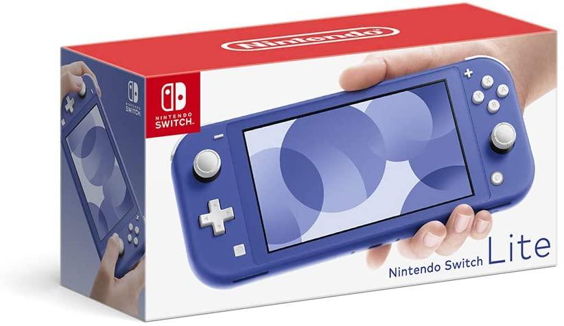 送料無料! Nintendo Switch Lite ブルー ※本体にキズがございます※スティックに変色がございます【中古】【Nintendo Switch Lite本体】【鈴鹿 専売品】【062-210812-02fs】