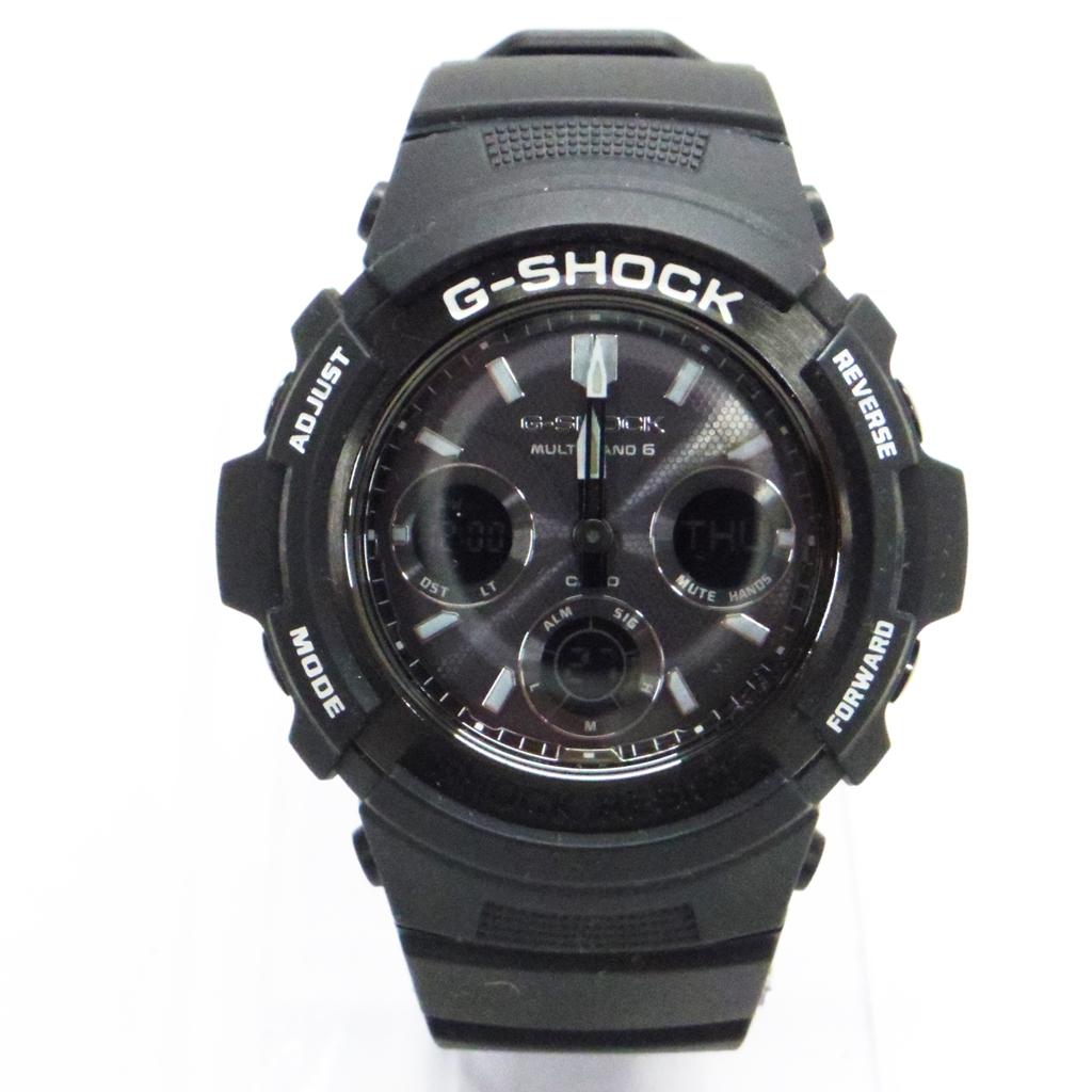 G-SHOCK(ジーショック) AWG-M100BW 【中古】【時計】【鈴鹿 併売品】【141-180125-02AS】
