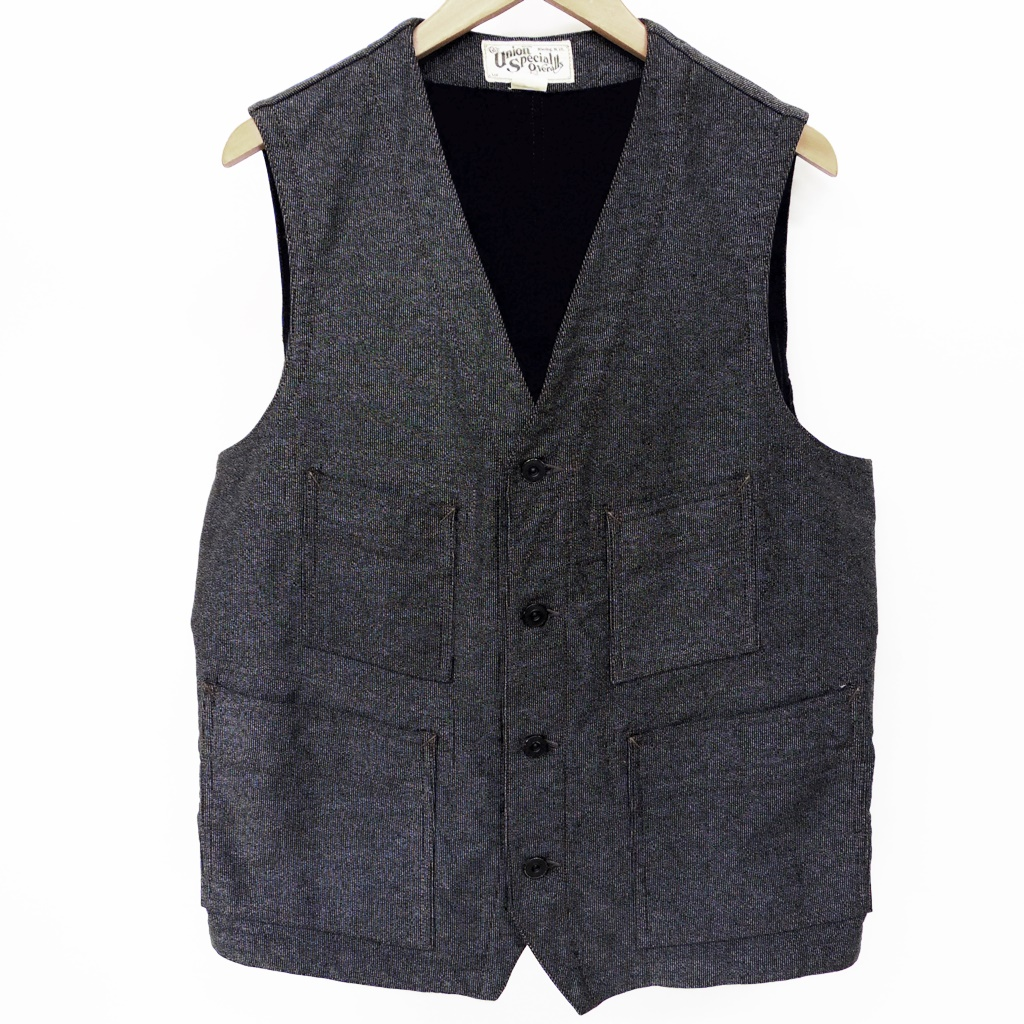 FREEWHEELERS(フリーホイーラーズ) Ironsmith Vest The Union Special Overalls【中古】【アメカジ】【鈴鹿 併売品】【128-180416-01AS】