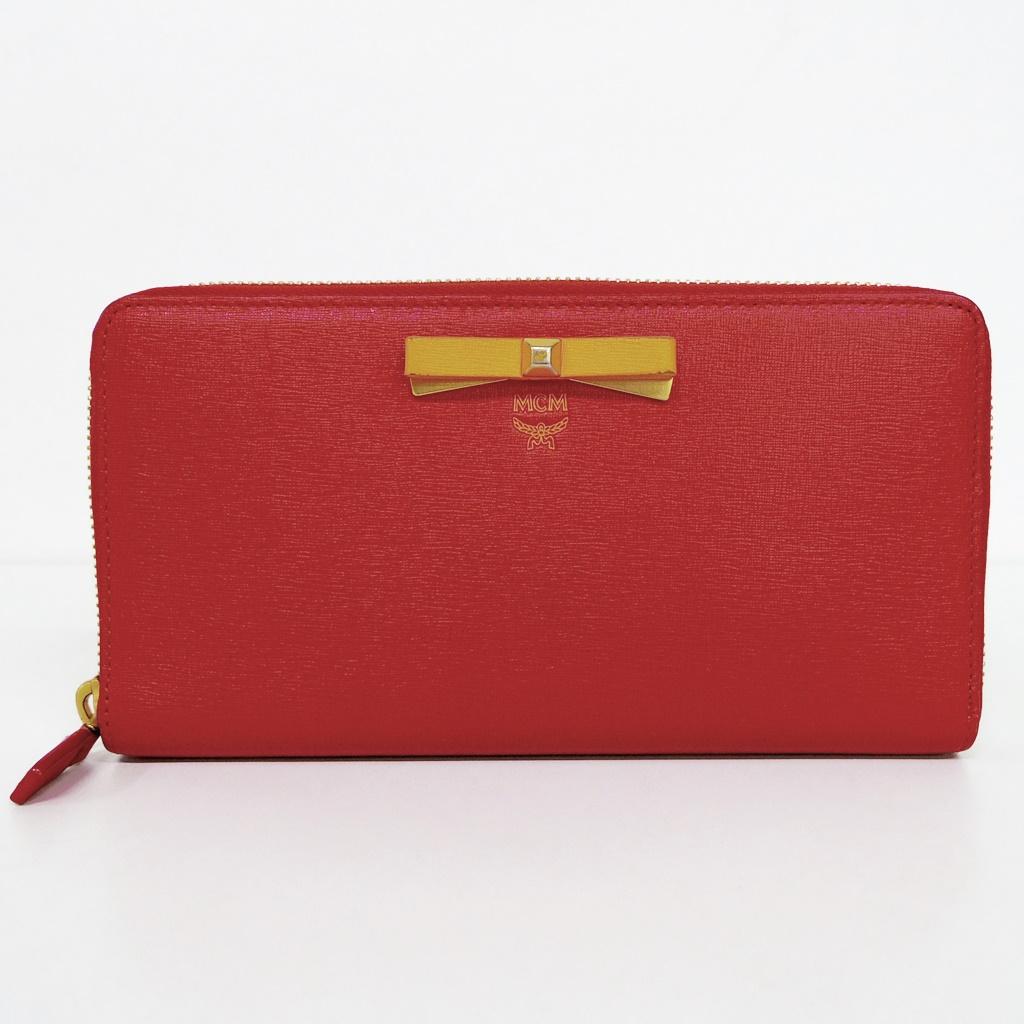 MCM(エムシーエム) Zip Around Wallet MYL6ALL52RU001【中古】【SPブランド】【鈴鹿 併売品】【148-180420-01AS】