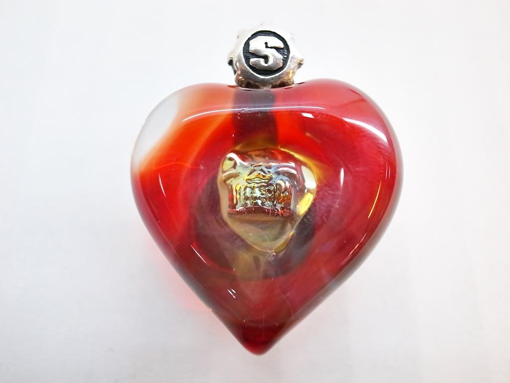 STARLINGEAR (スターリンギア) New Heart Marble w/ Skull Pendant ハート スカル 限定【中古】【ブランドアクセ】【鈴鹿 併売品】【1440119IS】