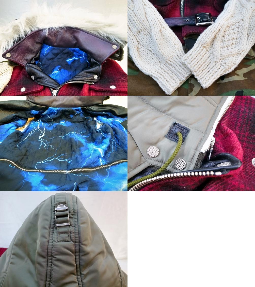 PHENOMENONフェノメンミックスドッキングジャケット サイズ Mカラー ミックス ストリート鈴鹿 併売品1261405OSWD2IE9YH