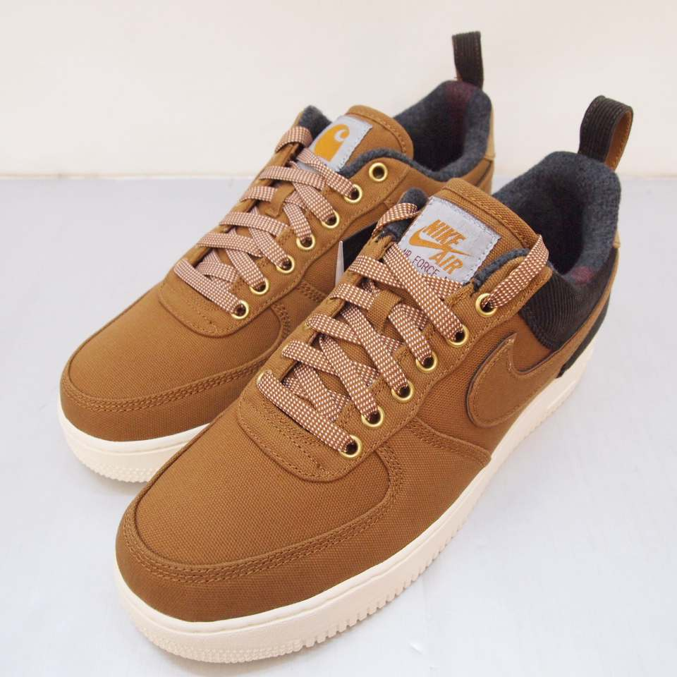 meilleure sélection 7fc78 809ee NIKE X CARHARTT (Nike X car heart) AIR FORCE 1 07 PREMIUM WIP air force 1  premium AV4113-200 size: 10 (28cm) colors: Camel