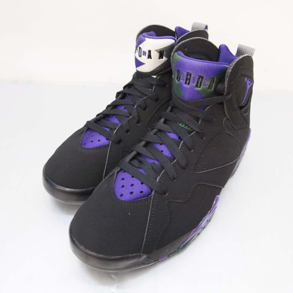 brand new fef4c 2958b NIKE (Nike) AIR JORDAN 7 RETRO RAY ALLEN Air Jordan 7 nostalgic Ray Allen  304,775-053 size: 9 (27cm) colors: Black purple