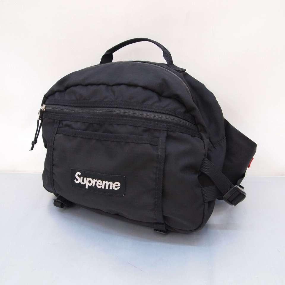 送料無料! 16SS! Supreme(シュプリーム) Waist Bag ウエストバッグ カラー:ブラック【中古】【137 カバン】【鈴鹿 併売品】【137-191113-04OS】
