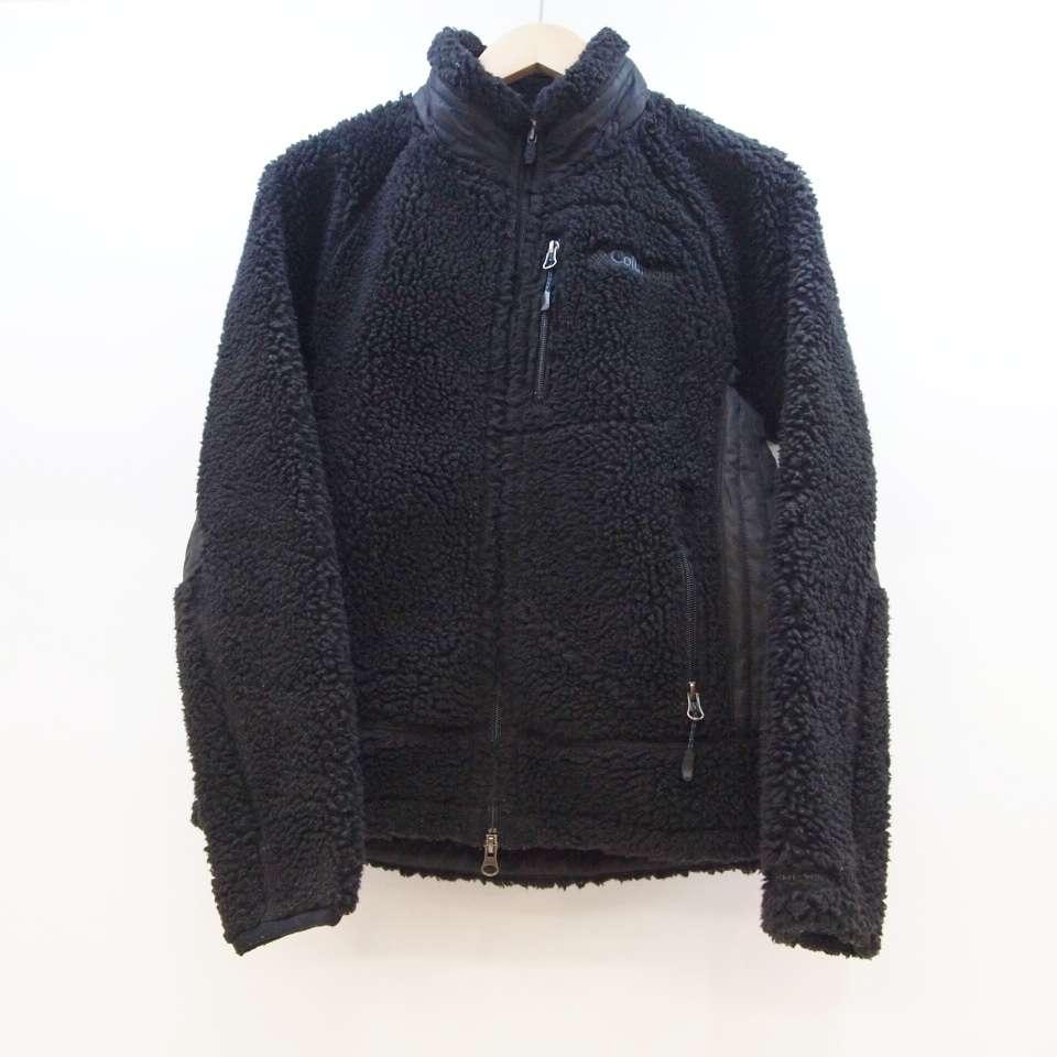 Columbia(コロンビア) フリースジップジャケット サイズ:XS カラー:ブラック【中古】【129 アウトドア】【鈴鹿 併売品】【129-191202-01OS】