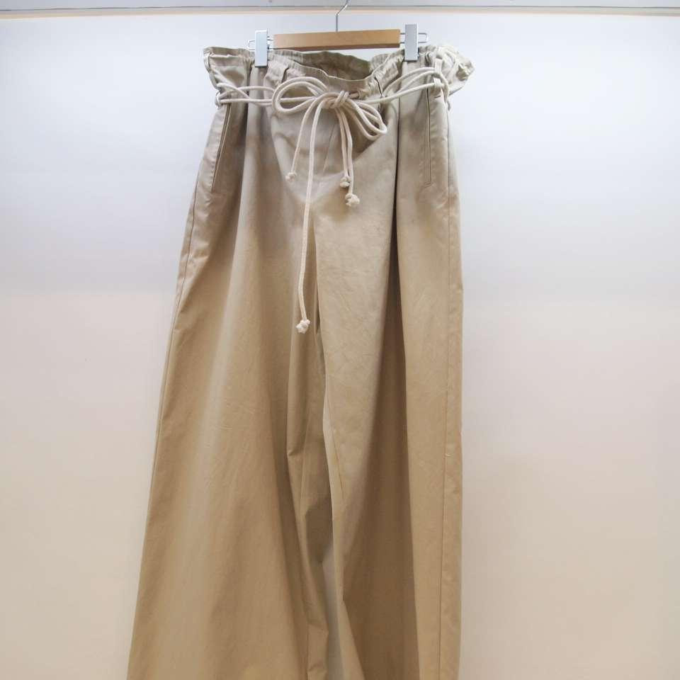 AMBUSH(アンブッシュ) Drawstring Pants ドローストリング パンツ サイズ:1 カラー:ベージュ【中古】【126 ストリート】【鈴鹿 併売品】【126-200116-02OS】