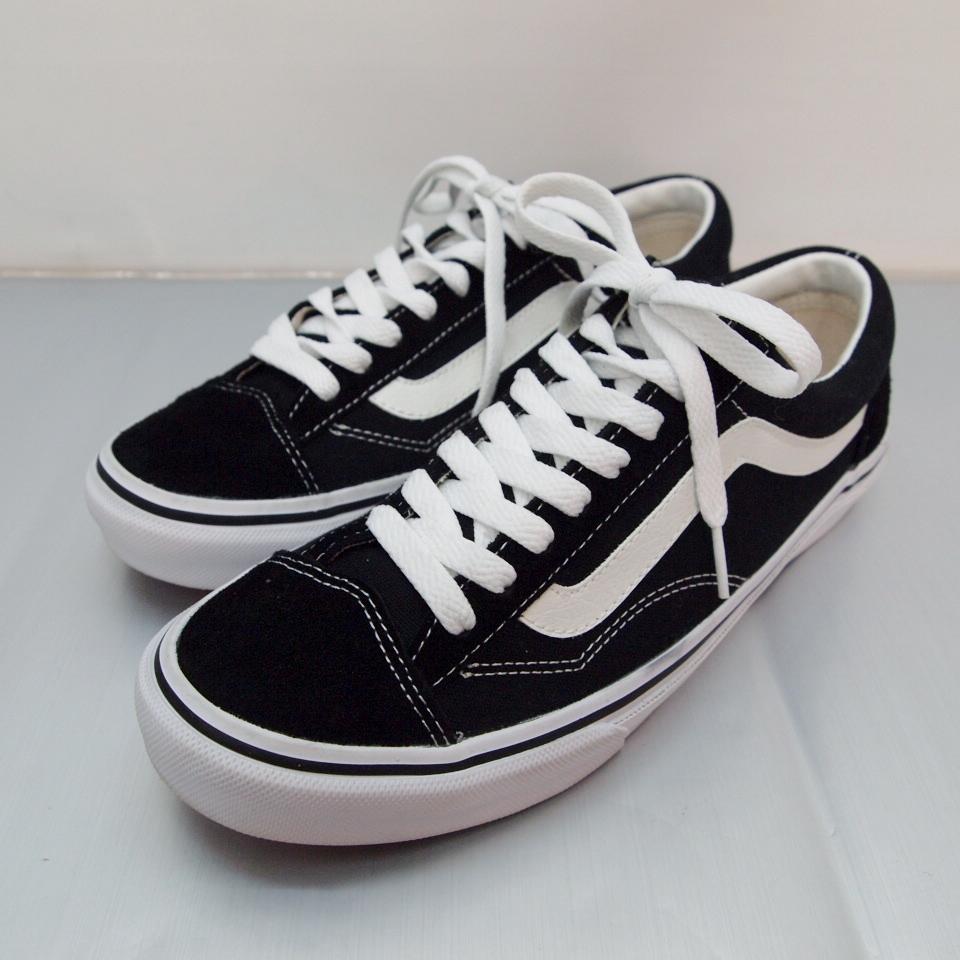 VANS (バンズ) OLD SKOOL OG BLACK オールドスクール サイズ:9.5 (27.5cm) カラー:ブラック
