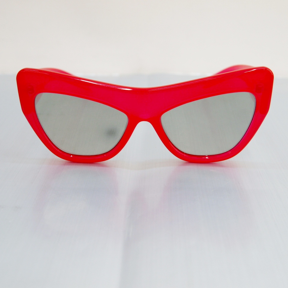 Adam Selman×Le Specs (アダム セルマン×ルスペックス) サングラス ♯1502064 カラー:レッド【中古】【サングラス】【鈴鹿 併売品】【142-180207-02OS】