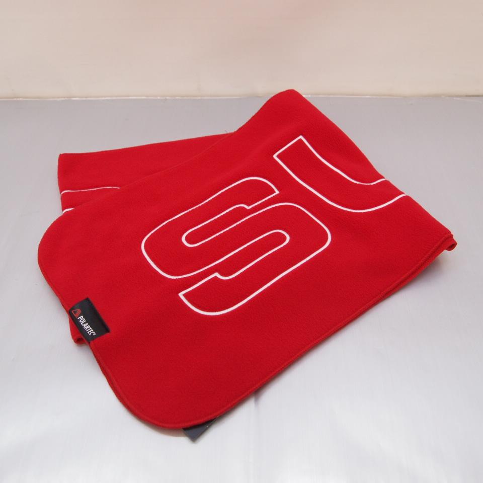 Supreme (シュプリーム) Polartec Logo Scarf ポーラテック ロゴ スカーフ マフラー カラー:レッド【中古】【その他アクセ】【鈴鹿 併売品】【147-180223-03OS】