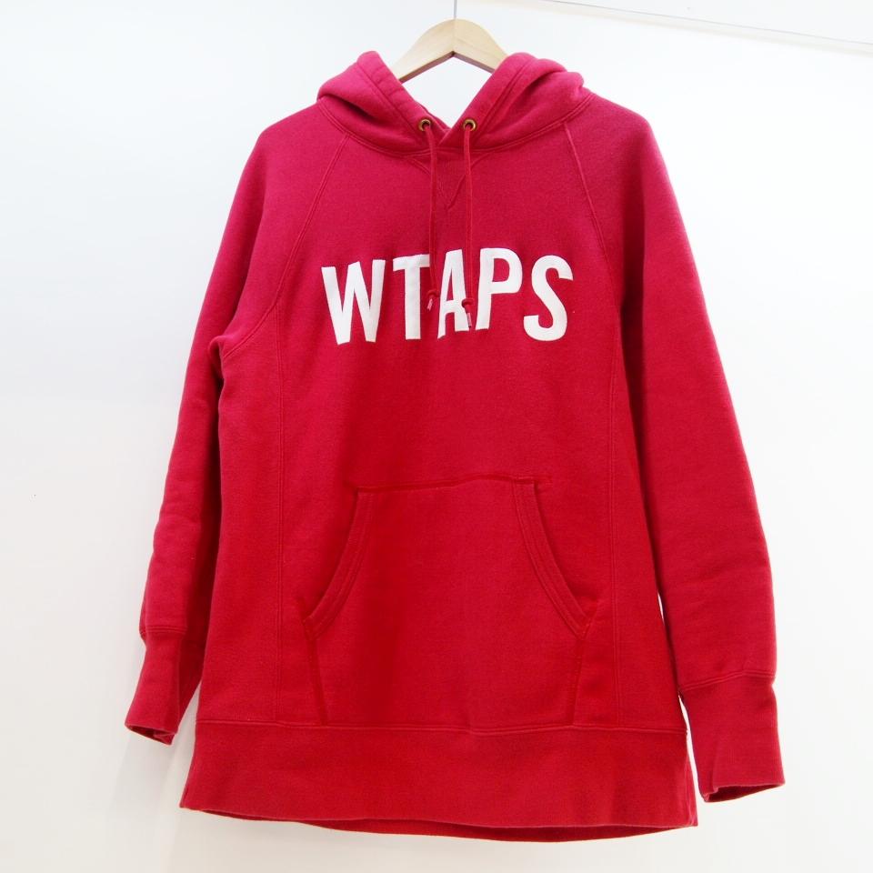 WTAPS (ダブルタップス) DESIGN HOODED 01 スウェットパーカー サイズ:S カラー:レッド【中古】【ルード】【鈴鹿 併売品】【127-180319-05OS】