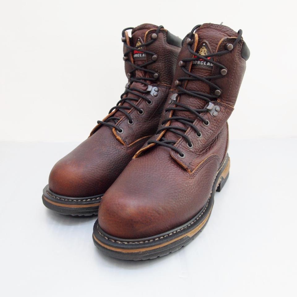 ROCKY (ロッキー) Steel Toe Work Boot サイズ:9 (27cm) カラー:ブラウン【中古】【その他靴】【鈴鹿 併売品】【140-180511-02OS】