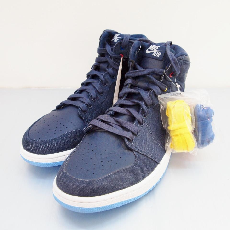 new style ef4ce 719a5 NIKE (Nike) AIR JORDAN 1 RETRO HI Air Jordan 1 682,781-415 size: 12 (30cm)  colors: Navy