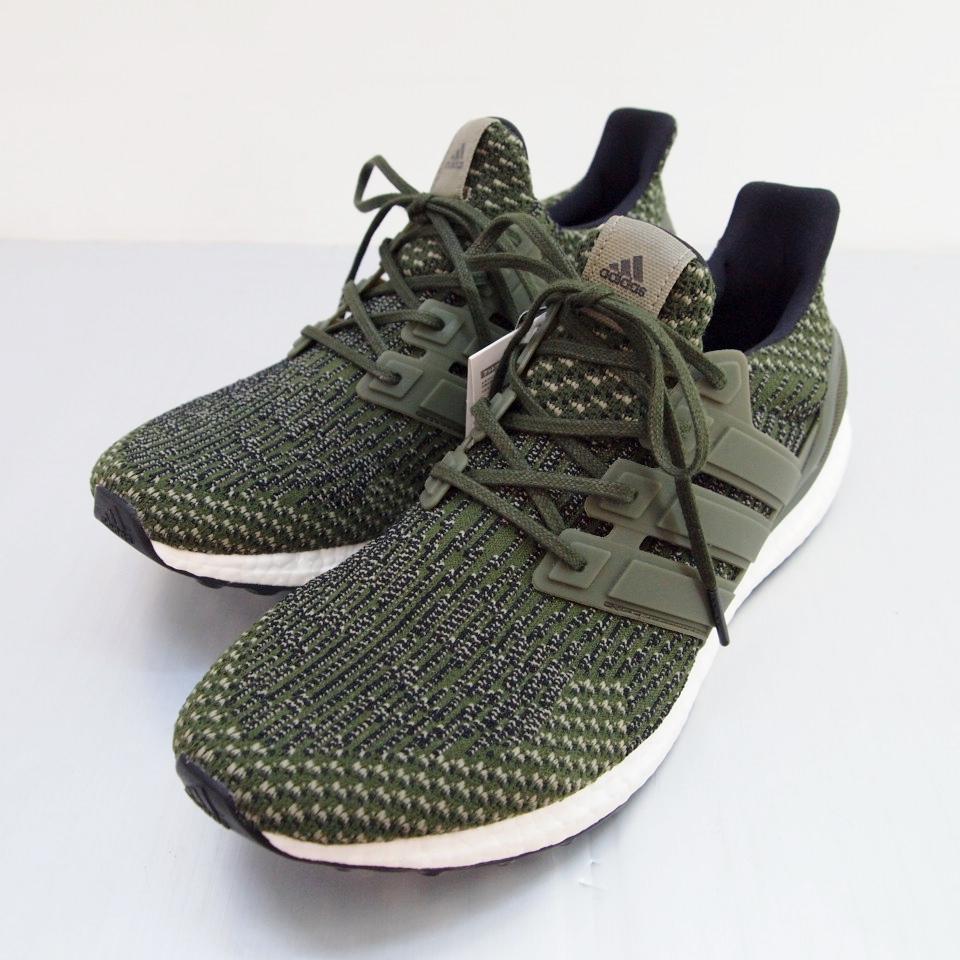 adidas (アディダス) Ultra BOOST ltd BA7748 サイズ:10.5 (28.5cm) カラー:カーキ【中古】【スニーカー】【鈴鹿 併売品】【139-180706-02OS】