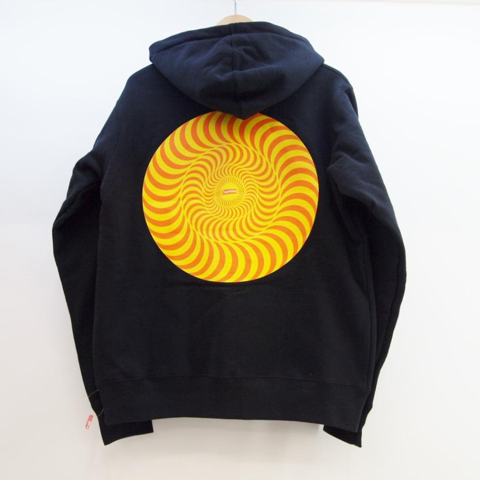 Supreme (シュプリーム) Spitfire Hooded Sweatshirt サイズ:S カラー:ブラック【中古】【ストリート】【鈴鹿 併売品】【126-180829-02OS】