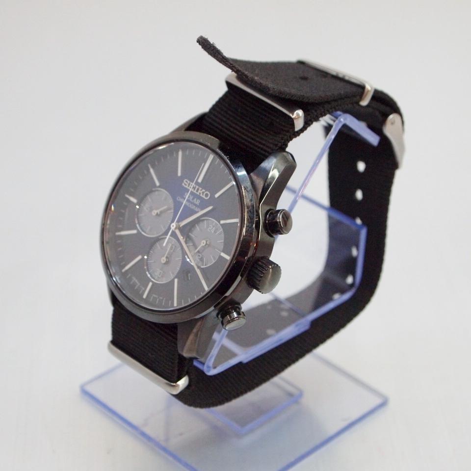 SEIKO (セイコー) SPIRIT SMART スピリットスマート SBPY141 ソーラー カラー:ブラック【中古】【時計】【鈴鹿 併売品】【141-180921-04OS】