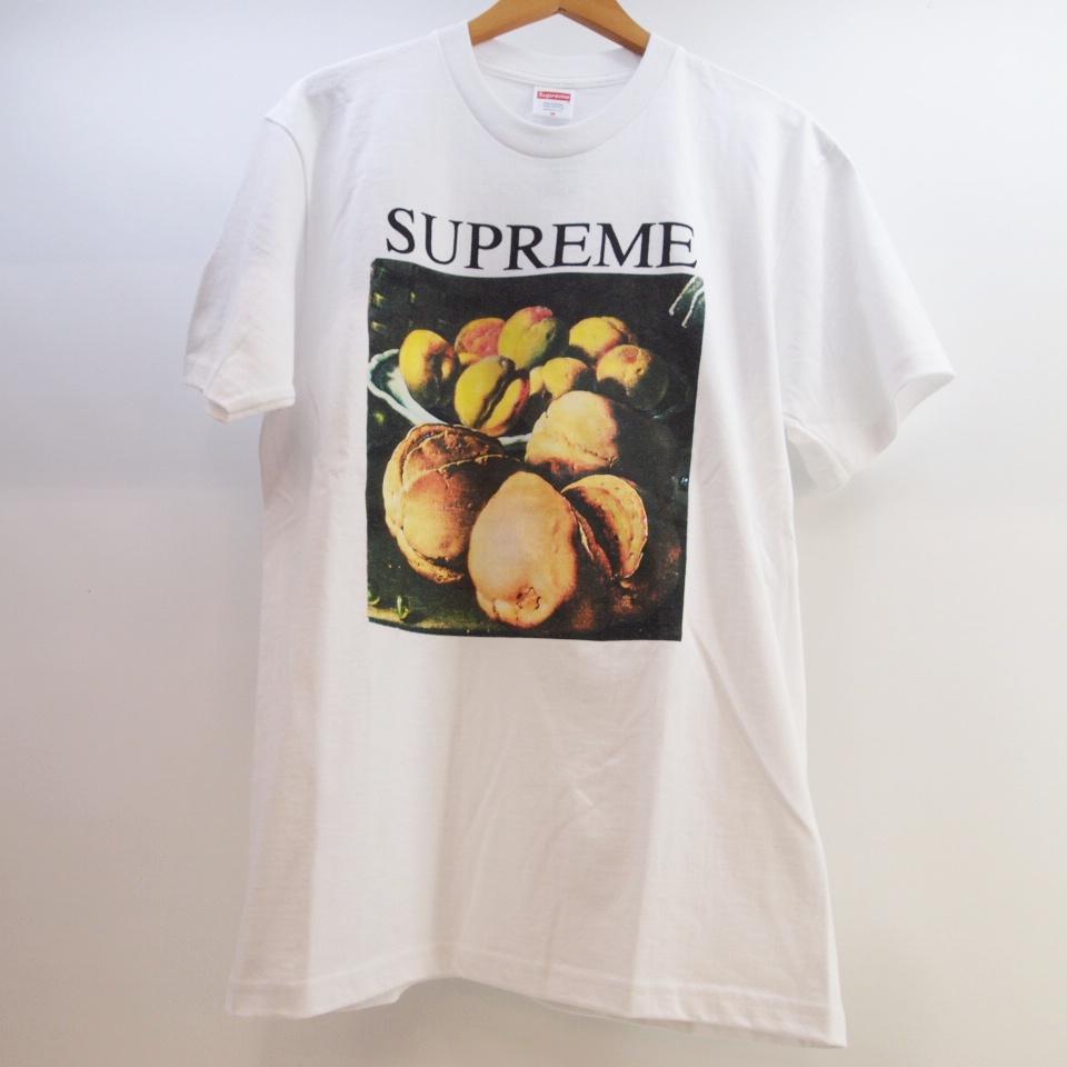 Supreme (シュプリーム) Stil Life Tee サイズ:Mカラー:ホワイト【中古】【ストリート】【鈴鹿 併売品】【126-181030-06OS】