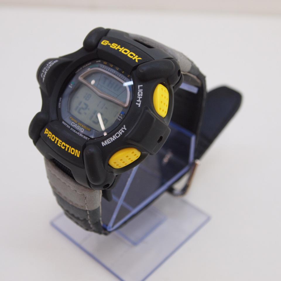 CASIO (カシオ) G-SHOCK DW-9100 ライズマン カラー:グレー・イエロー【中古】【時計】【鈴鹿 併売品】【141-181101-05OS】