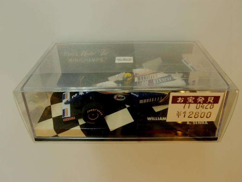 【開封済】 1/43 ウィリアムズルノー FW16 #2 A.セナ 1994 【中古】【ミニカー】【鈴鹿 併売品】【0710922BS】