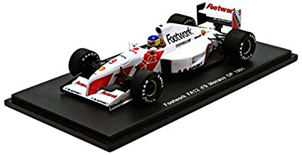 【開封済】 【Spark】1/43 Footwork FA12 No.9 Monaco GP 1991 Michele Alboreto 【中古】【ミニカー】【鈴鹿 併売品】【0710985BS】