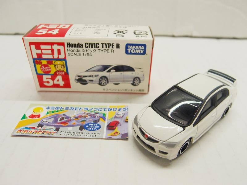 【開封済】 トミカ No.054 Honda シビック TYPE R 【中古】【ミニカー】【鈴鹿 併売品】【071-170927-04BS】