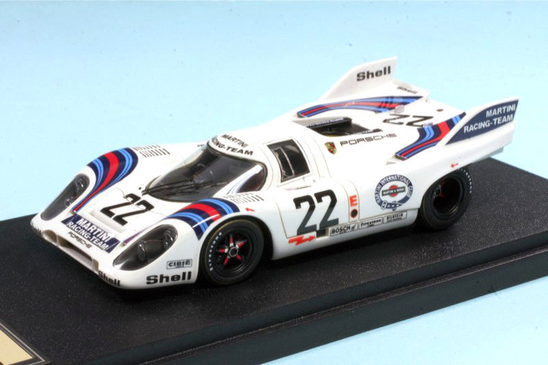 Make Up(メイクアップ) 1/43 ポルシェ 917K Porsche 24H Le Mans 1971 Martini Racing No.22【中古】【ミニカー】【鈴鹿 併売品】【071-190110-01AS】