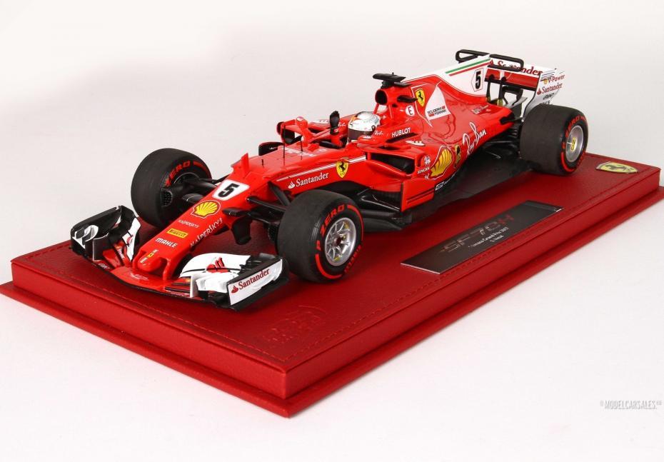 BBR MODELS 1/18 FERRARI SF70-H RED フェラーリ F1 G.P. Montecarlo 2017 winner S. Vettel 世界限定100台【中古】【ミニカー】【鈴鹿 併売品】【071-190131-02AS】