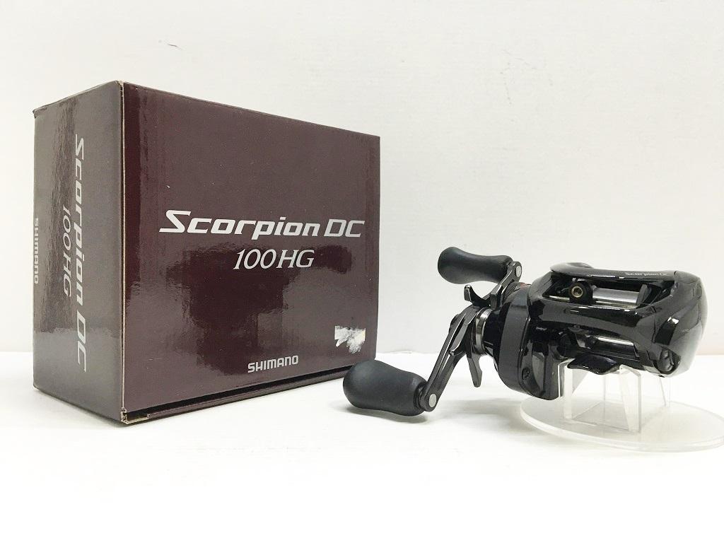 SHIMANO 17 Scorpion DC 100HG シマノ 17 スコーピオン DC 100HG 右 品番 03661【中古】【シマノ製リール】【鈴鹿 併売品】【114-190205-03HS】
