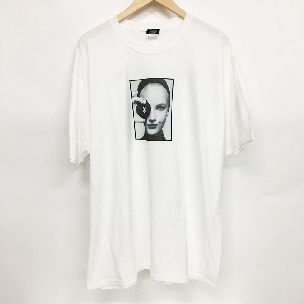 buy online 8104f 967a0 Stussy (ステューシー) PRINTEMPS ETE 2019 CAMPAIGN TEE Chanel T-shirt size: XL  color: White