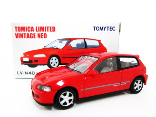 【開封品】トミカリミテッドヴィンテージ TLV-N48a Honda シビック SiR-II(赤) 完成品 【中古】【ミニカー】【鈴鹿 併売品】【071-190126-05JS】