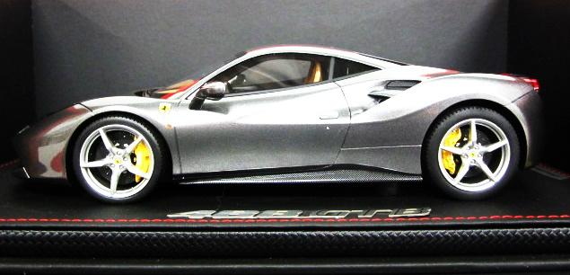 【開封品】BBR MODELS 1/18 Ferrari 488 GTB 85th Geneve Auto Show Grigio Ferro/Limited 288 pcs 【中古】【ミニカー】【鈴鹿 併売品】【071-190130-02JS】