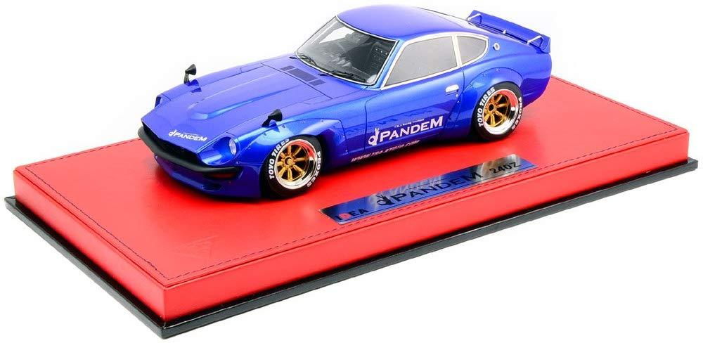 【開封品】メイクアップ IDEA 1/18 PANDEM 240Z メタリックブルー RS Watanabe R type Wheel  【中古】【ミニカー】【鈴鹿 併売品】【071-191222-02JS】