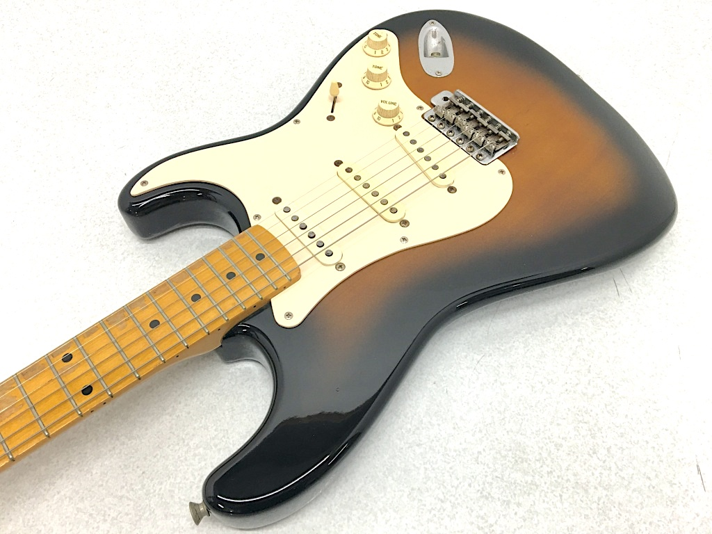 送料無料 オススメ 日時指定不可 Fender Japan Stratocaster マーケット Sシリアル 092-200525-01HS 中古 鈴鹿 SALENEW大人気! Aged 楽器本体 併売品