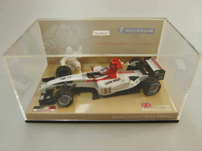 【開封済】 MINICHAMPS 1/43 MICHELIN BOX B・A・R Honda 006 Car No.9 Year.2004 Ltd.816 【中古】【ミニカー】【鈴鹿 併売品】【0710206BS】