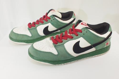 cheap for discount f3a33 6c6a4 NIKE (Nike) DUNK LOW PRO SB Heineken 304,292-302