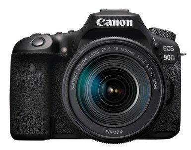 Canon(キヤノン) EOS 90D EF-S 18-135 IS USM レンズキット デジタル一眼レフカメラ【新古品・未使用品】【カメラ】【四日市 併売品】【101-191127-03QH】
