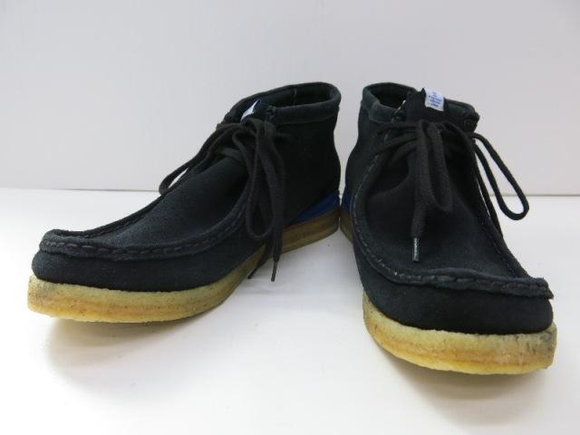 Visvim Beuys Trekker Folk ビズビム ボイス トレッカーフォーク ワラビーブーツ ブラック グレープソール【中古】【その他靴】【日永 併売品】【1400017UH】