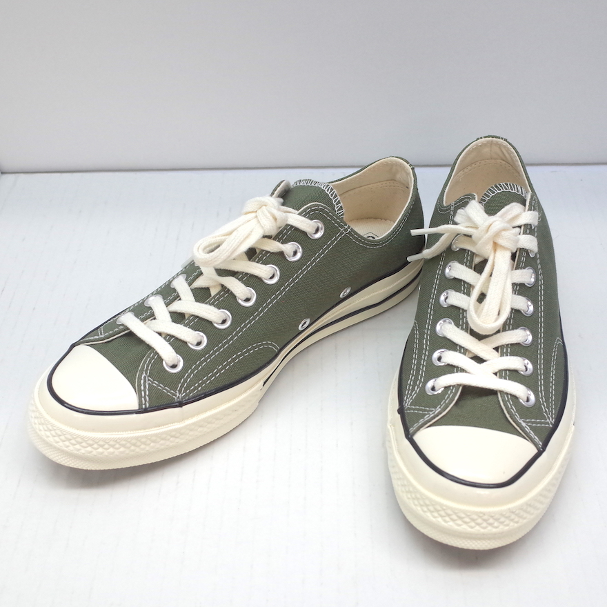 CONVERSE Chuck Taylor All Star 70s Ox 162060C Converse zipper Taylor all stars low frequency cut canvas Field Surplus olive khaki green