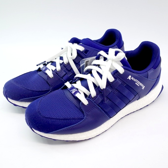 adidas Originals アディダス MASTERMIND WORLD EQT SUPPORT ULTRA MMW CQ1827 29cm ブルー【中古】【スニーカー】【四日市 併売品】【139-180809-01mH】
