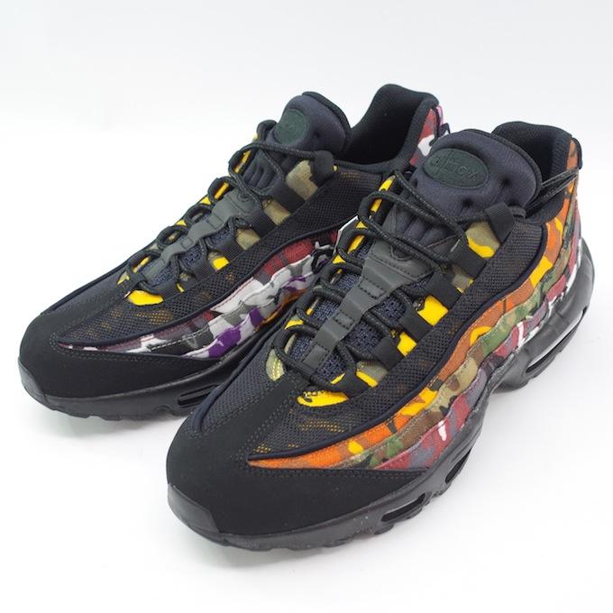new style fa8b4 ac647 NIKE Nike AIR MAX 95 ERDL PARTY AR4473-001 28cm BLACK/MULTI CAMO