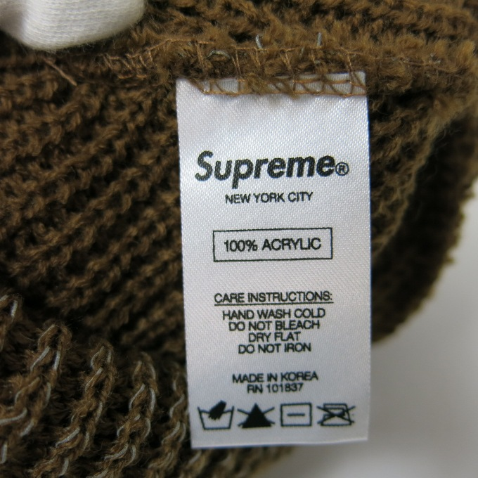 Supreme Reflective Loose Gauge Beanie シュプリームリフレクティヴ ルースゲージ ビーニー ブラウン その他帽子四日市 併売品136 171003 07USHj4cAR5L3q