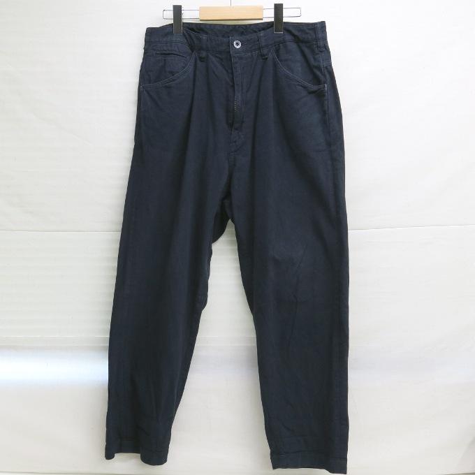 bukht BIG CHINO PANTS ブフト ビッグ チノパンツ B-M31814 ブラック サイズ:3【中古】【DM】【四日市 併売品】【125-171113-03USH】